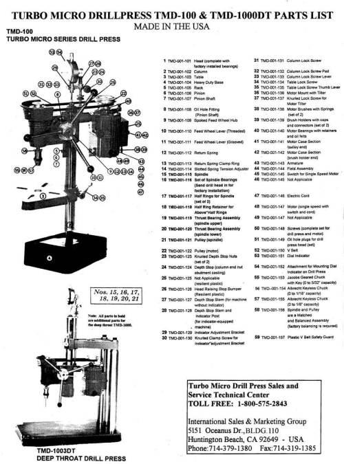 small resolution of chuck drill pres diagram