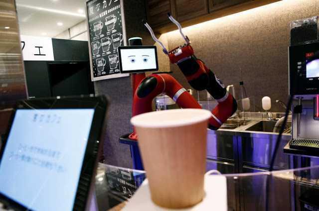Japonya'daki Robotlar Artık Kahvede Yapıyor