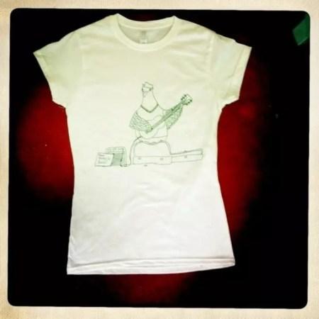 , Busking Pigeon T-Shirt