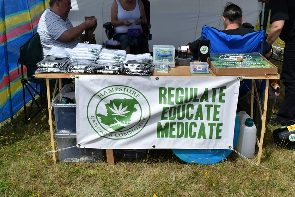 , Hampshire Cannabis Community Beach BBQ 2016