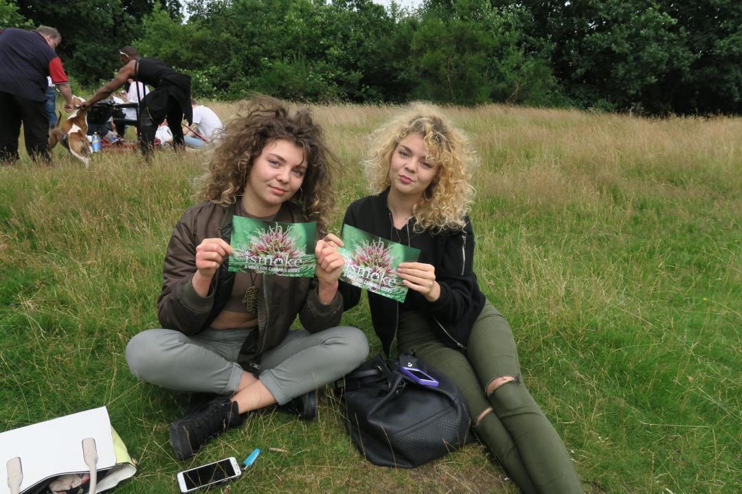 , Tottenham Cannabis Club Awareness Day July 2016 Write-Up, ISMOKE