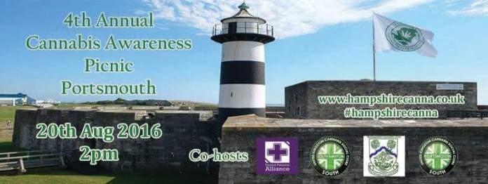 Cannabis Awareness, Upcoming Cannabis Awareness Picnic, Portsmouth
