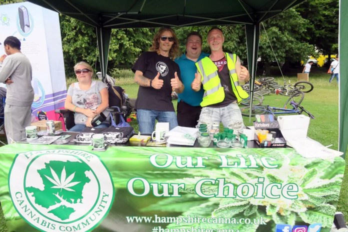 Green Pride 2017, Brighton Cannabis Social Club : Green Pride 2017