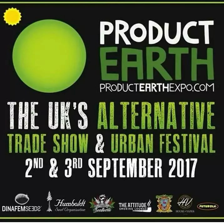 Product Earth 2017, Product Earth 2017: UK Hemp, Cannabis and Alternative Lifestyle Expo & Festival, ISMOKE