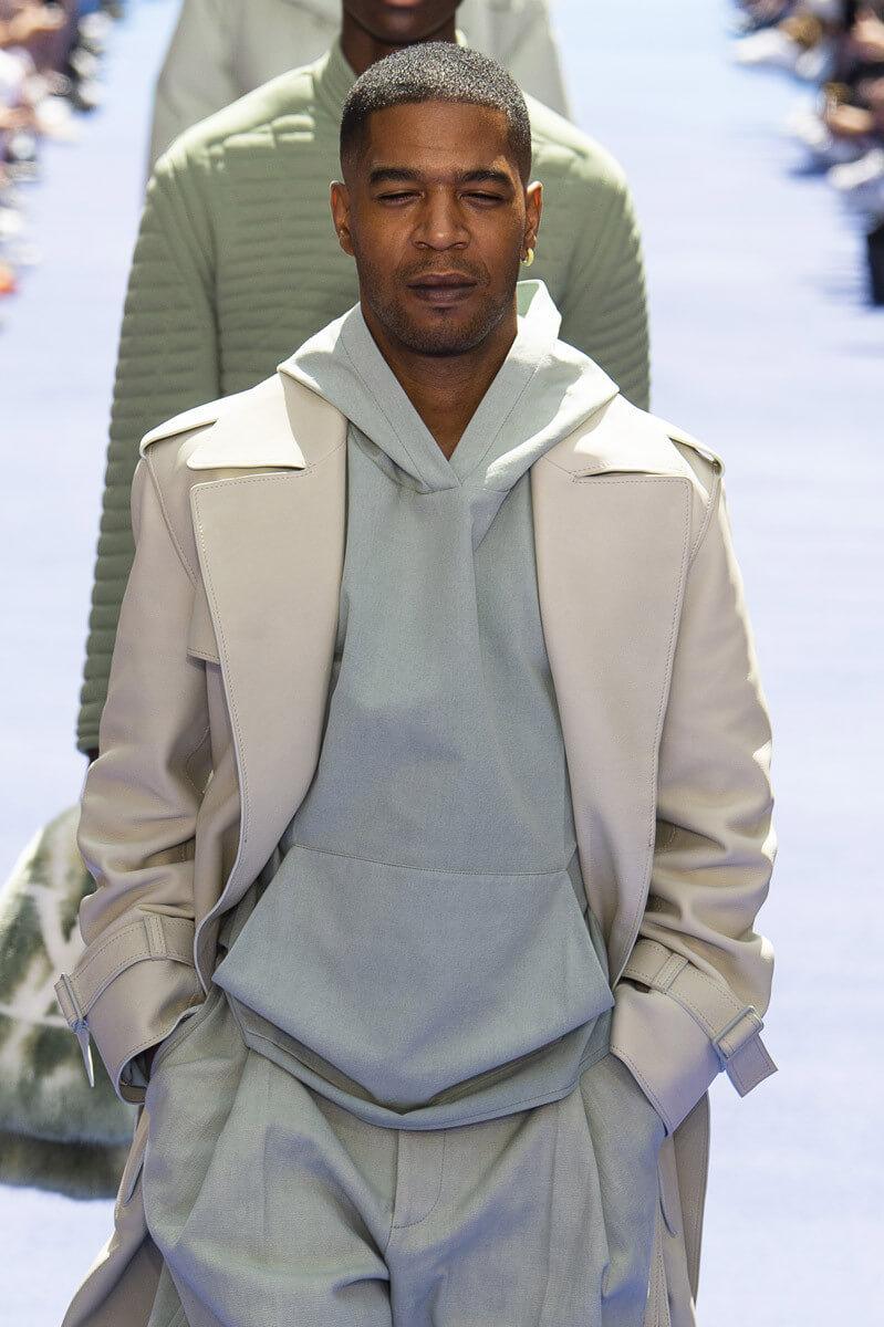 Virgil Abloh x Louis Vuitton S/S 2019. Imagen: Elle