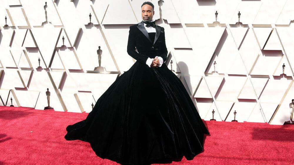 Billy Porter em los Oscars 2019. Imagen: Getty Images