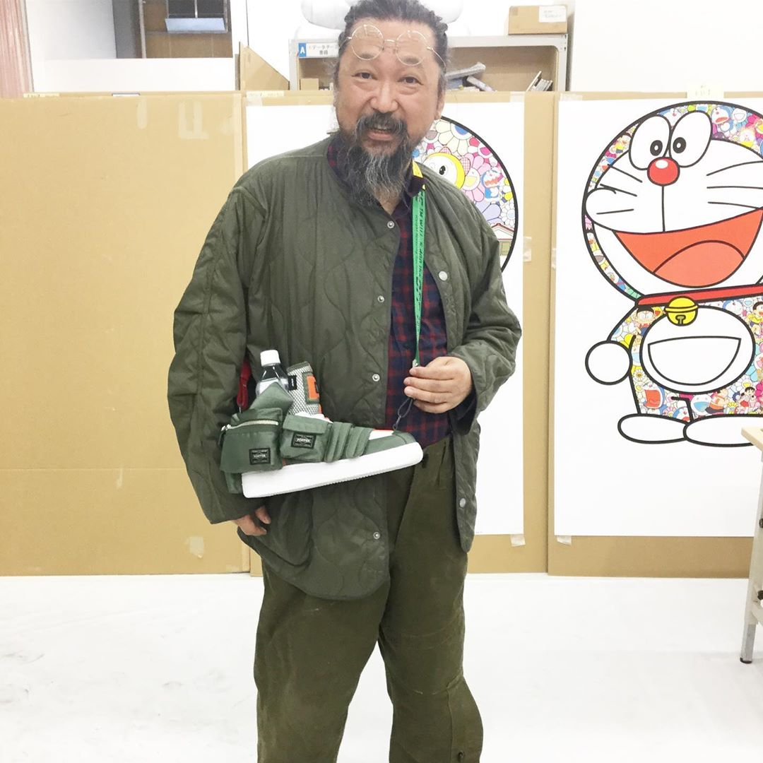 Takashi Murakami x Mobile Suit Gundam: El artista japonés crea zapatillas inspiradas en el icónico animé