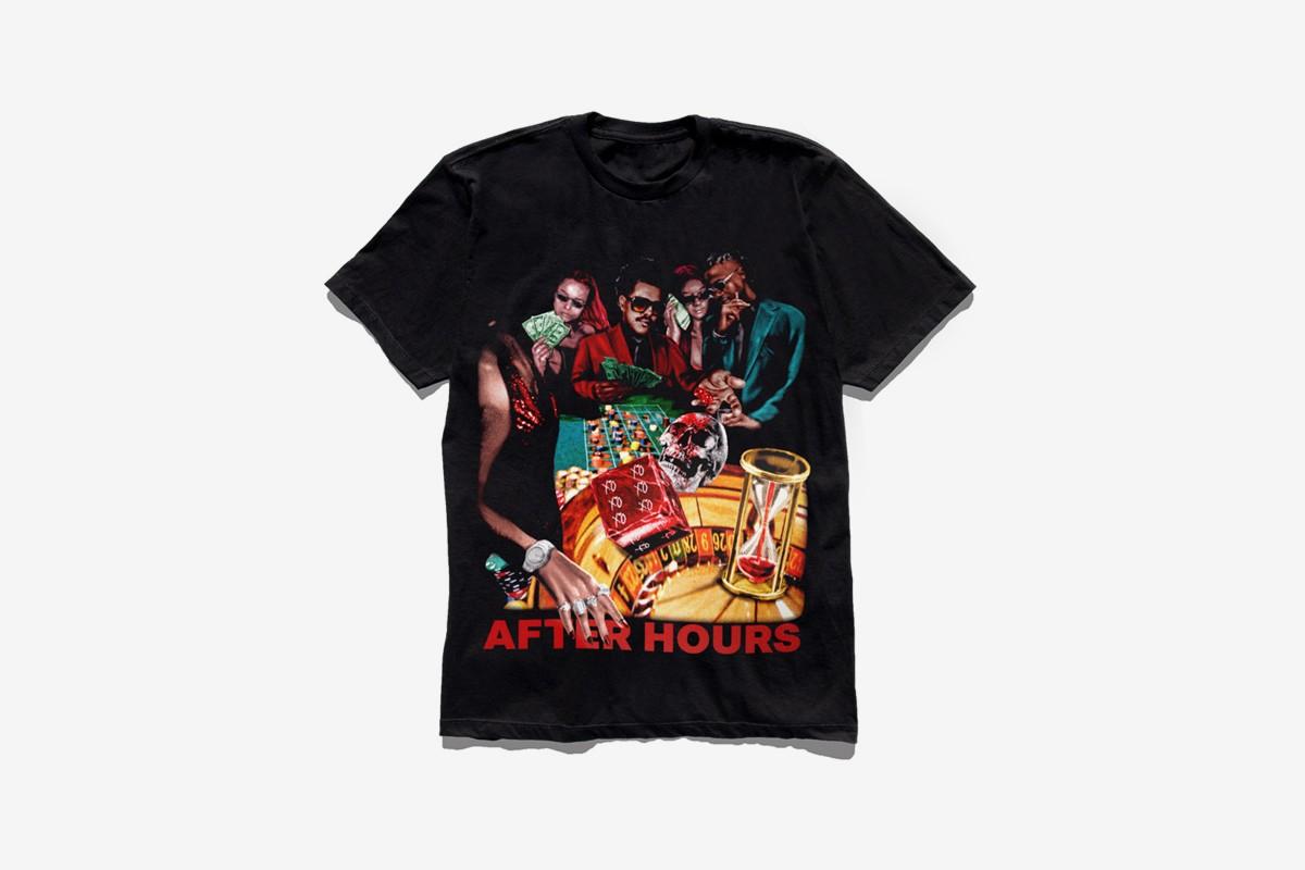 """Parte de la nueva colección de piezas de """"After Hours"""" de The Weeknd. Fotografía: The Weeknd"""