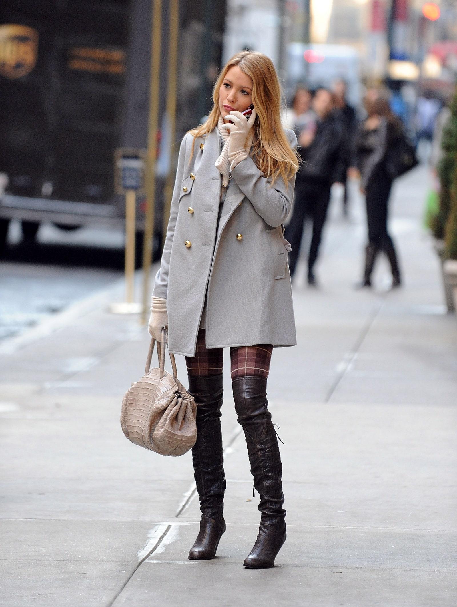 "Blake Lively como Serena van der Woodsen en ""Gossip Girl"". Fotografía: Getty"