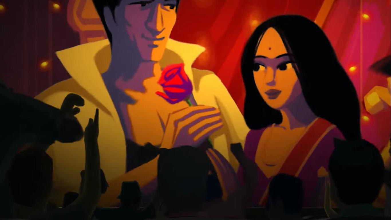 """""""Bombay Rose"""": El romance animado de Netflix que captura la esencia de Bollywood"""