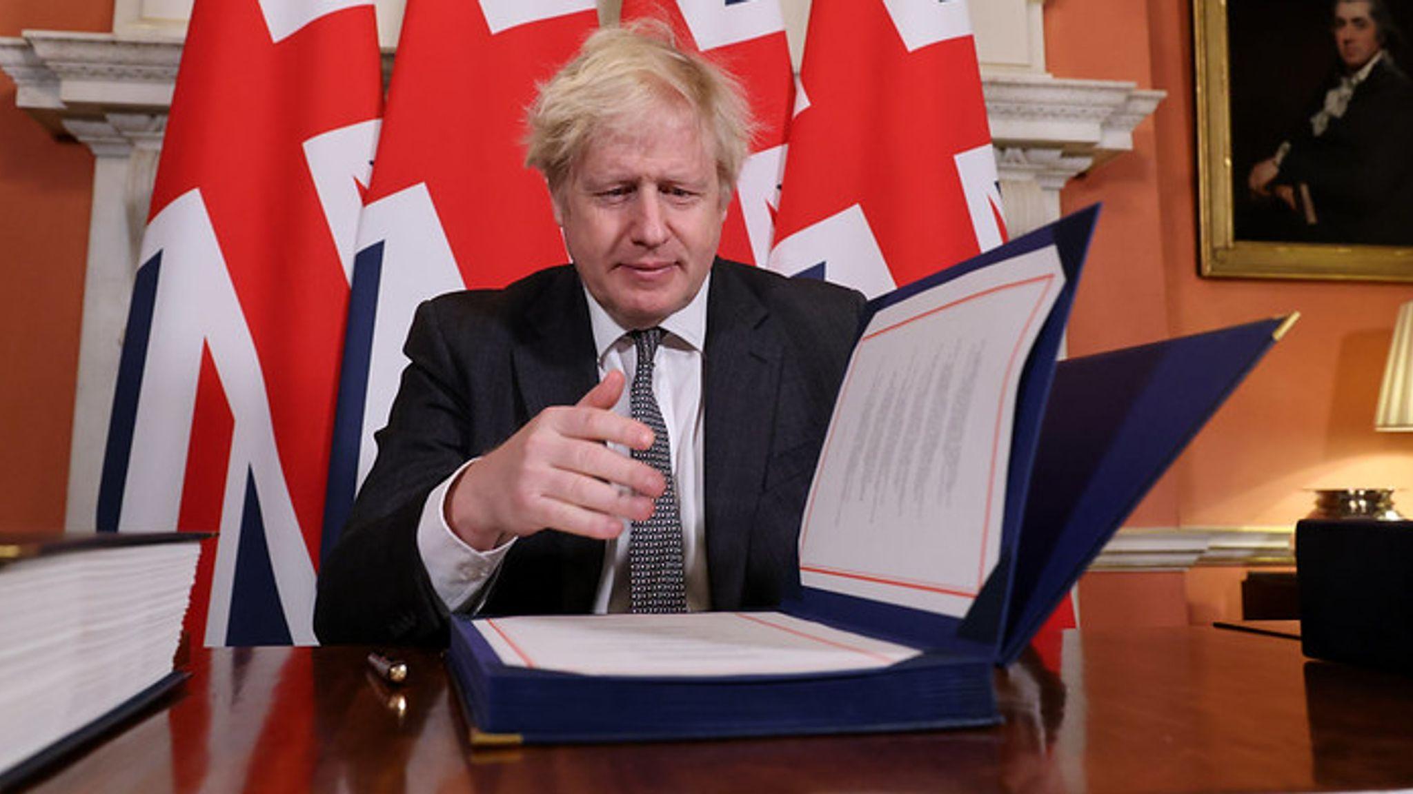 Brexit: Parlamento británico da luz verde al acuerdo de salida con la Unión Europea