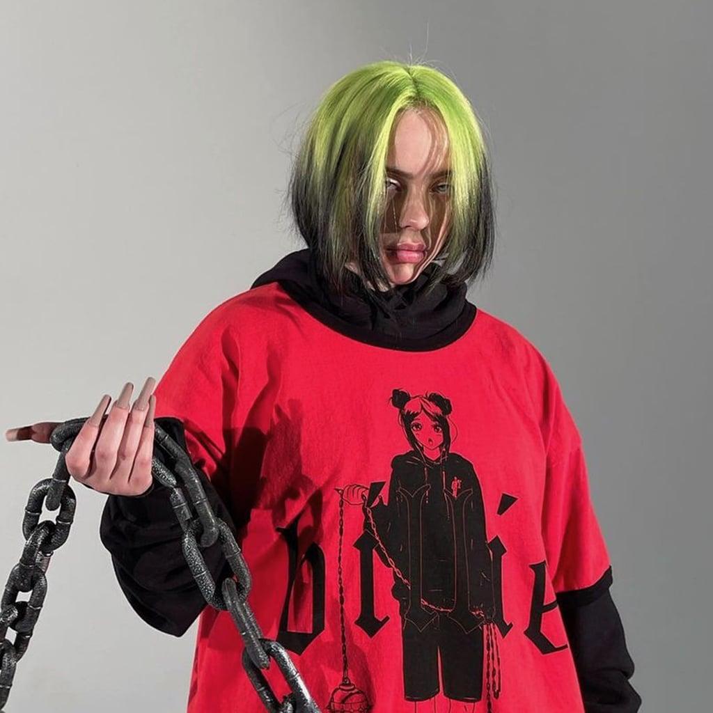 Billie Eilish celebra la llegada de su documental con una nueva línea de ropa