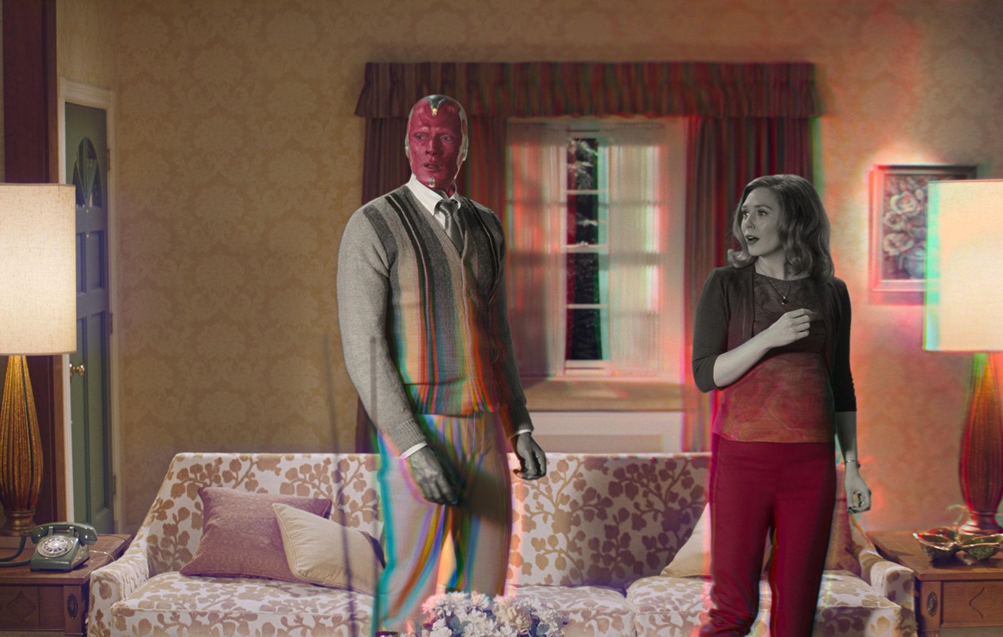 """Assembled: The Making of WandaVision"": Mira el trailer del impresionante detrás de cámara de ""WandaVision"""