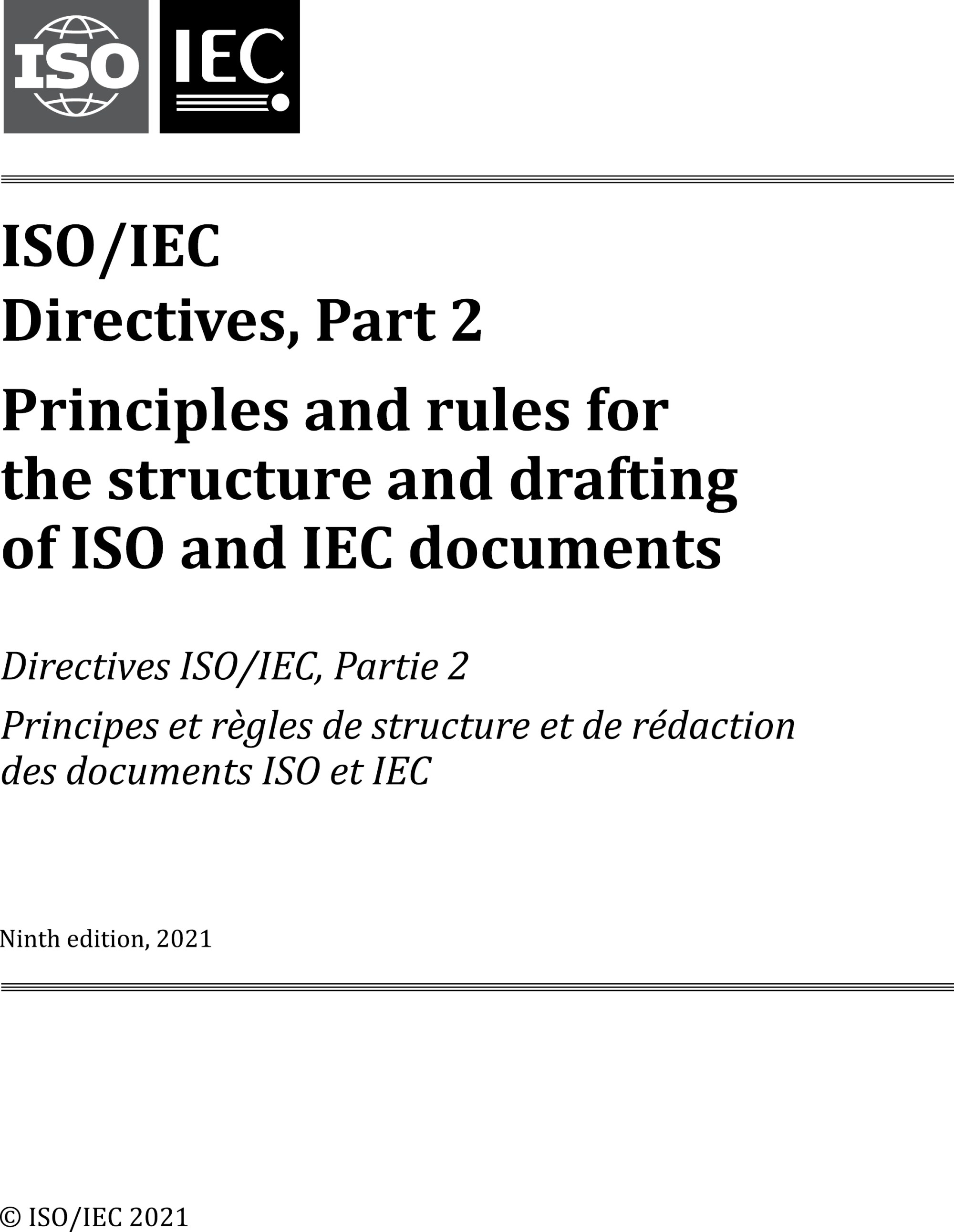 hight resolution of iso iec directives part 2 principles and rules for the structure and drafting of iso and iec documents
