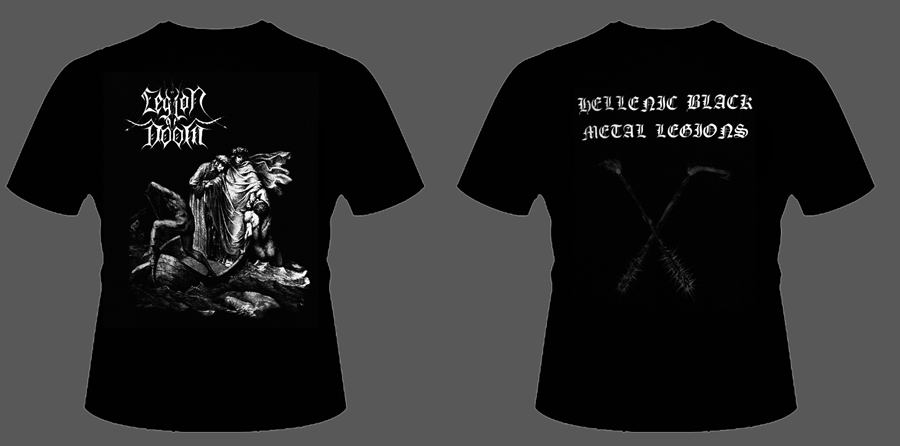 "LEGION OF DOOM ""Hellenic Black Metal Legions"""
