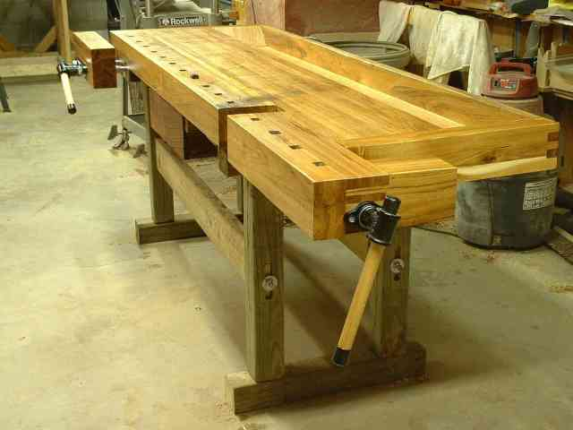 fence jeff greef woodworking european workbench download digital plans