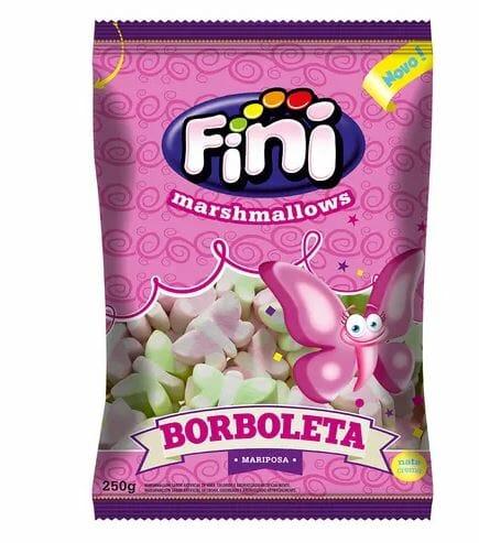 Marshmallows Borboleta 250g - Fini