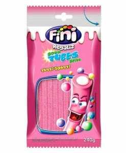 Tubes Tutti Frutti Azedinho 240g - Fini