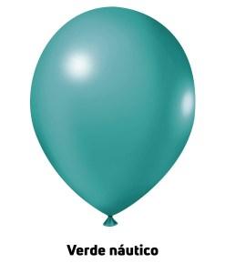 Balão Joy Redondo n°5 Verde Náutico