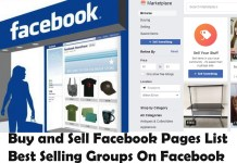 Buy and Sell Facebook Pages List - Best Selling Groups On Facebook - Facebook Page For Sale