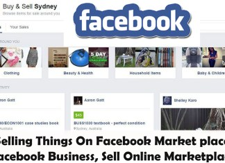 Selling Things On Facebook Market place - Selling Items On Facebook Business - Selling Things Online Marketplace
