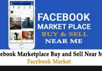 Marketplace Facebook Buy Sell Near Me