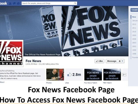 Fox News Facebook Page - How To Access Fox News Facebook Page