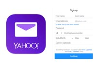 Yahoo Mail Sign Up