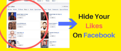 how to hide your likes from facebook