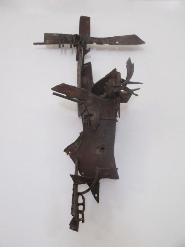 Aldo Caron - Cristo dei Rottami (foto M.R. Massidda)