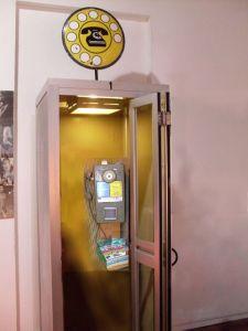 Cabina telefonica anni 90
