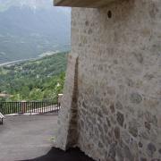 Panoramica della vallata da Forca di Valle