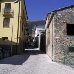 Fano a Corno, il centro storico del paese
