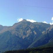 La catena del Gran Sasso vista da Forca di Valle