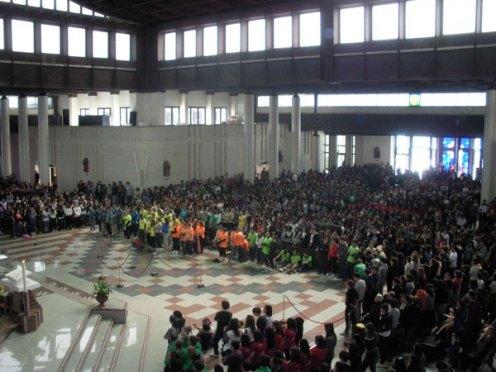 La Messa (foto Il Centro)