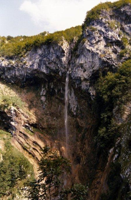 La cascata di Santa Colomba