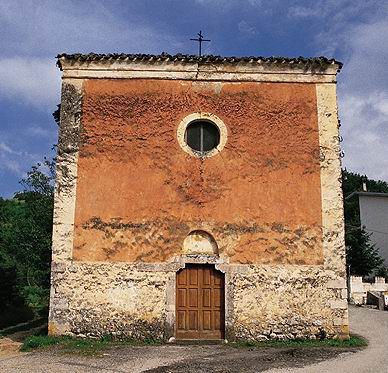 Vista della chiesa