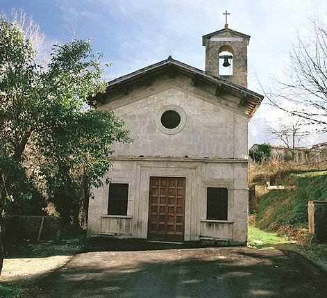 Vista della chiesa della Madonna delle Grazie