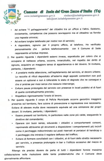 Lettera sindaco ai dipendenti - Pagina 2