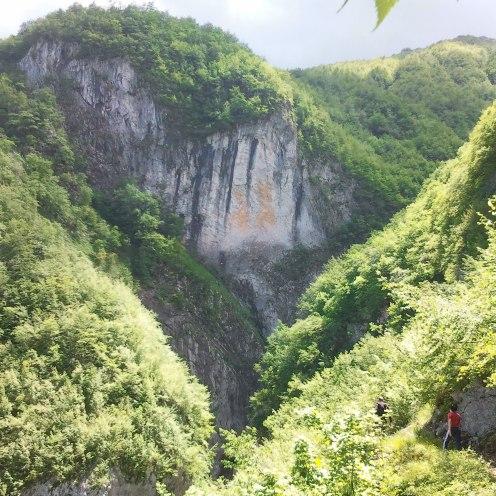 Una panoramica di Forra del Malepasso