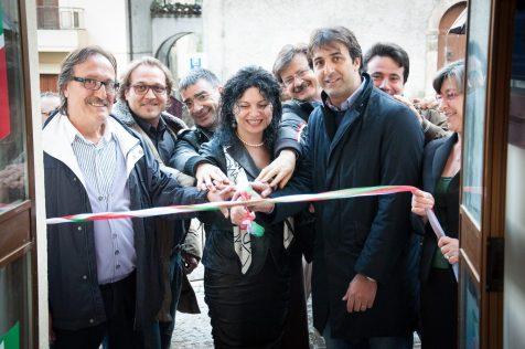 L'inaugurazione ufficiale della sede (fonte Facebook)