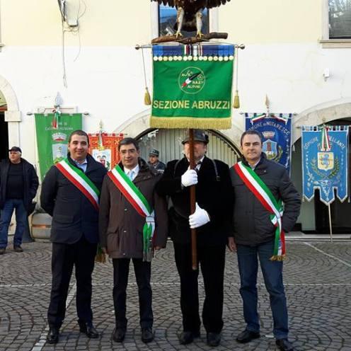 I sindaci di Colledara, Isola del Gran Sasso e Penna Sant'Andrea