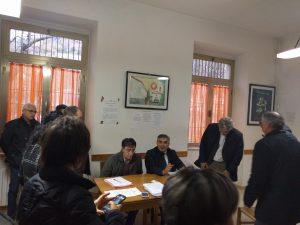 L'incontro di Luciano D'Alfonso con gli amministratori di Isola e Colledara