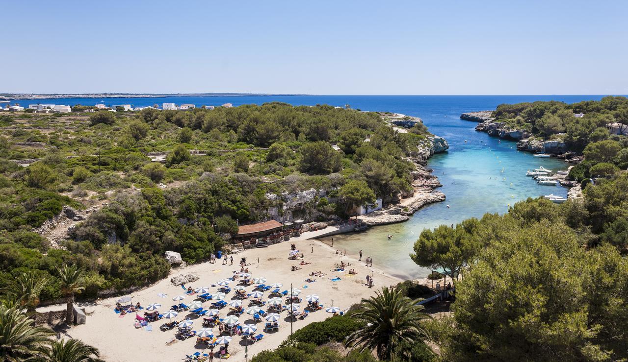 Spiagge per bambini Cala en Blanes Ciutadella  Minorca