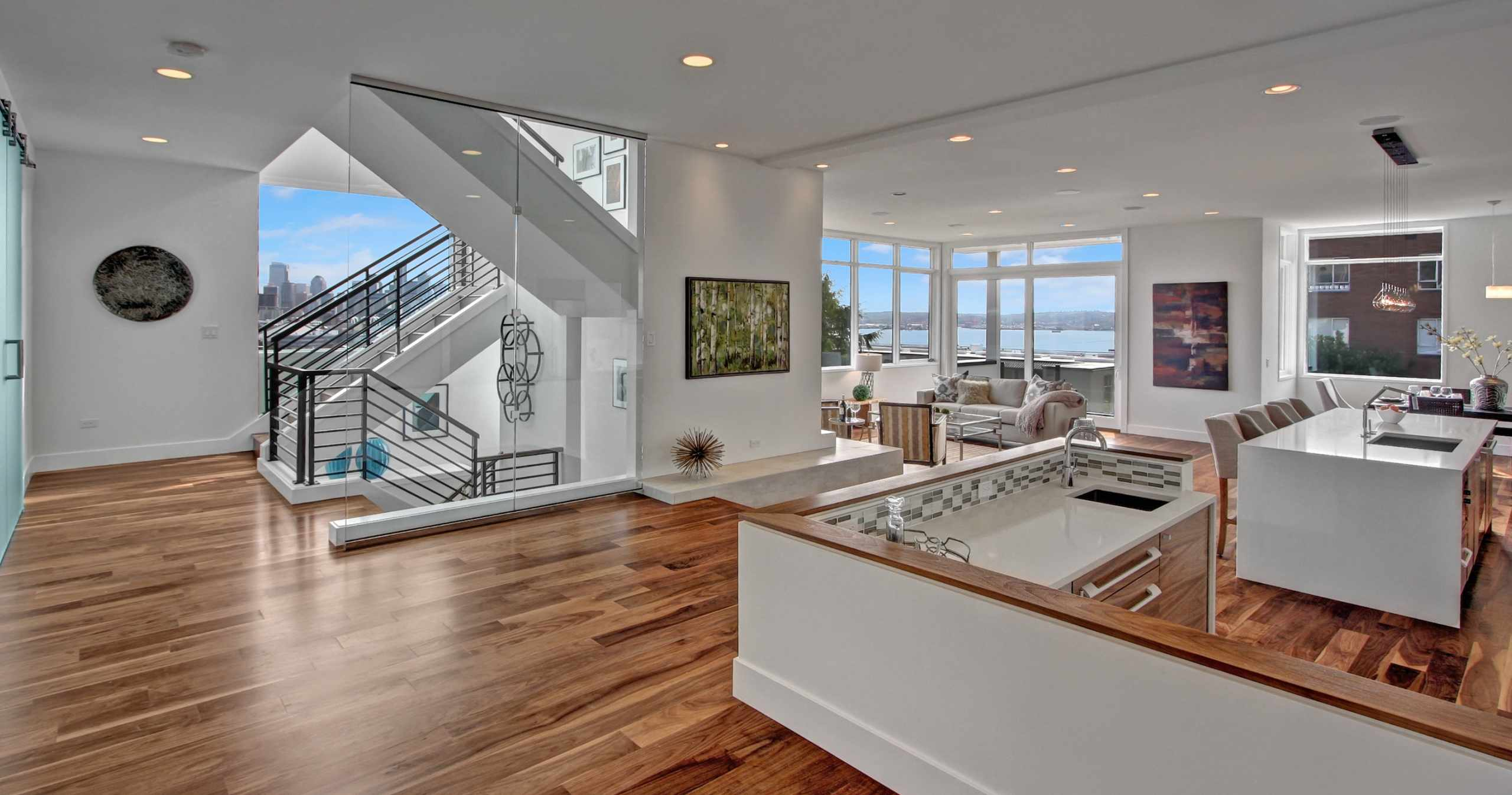 Isola Homes Building Modern Green In Seattle
