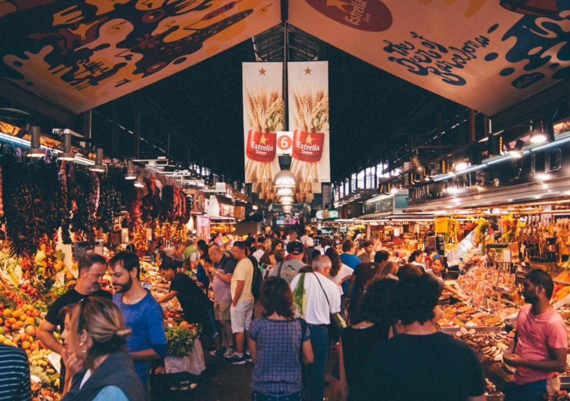 Mercado de La Boqueria, Barcelona 1