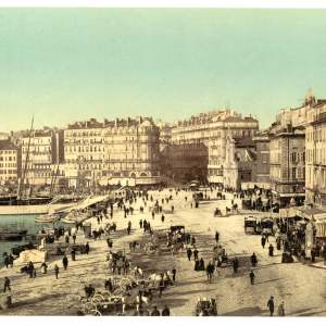 Past & Present: Photographs of Marseille, France 11