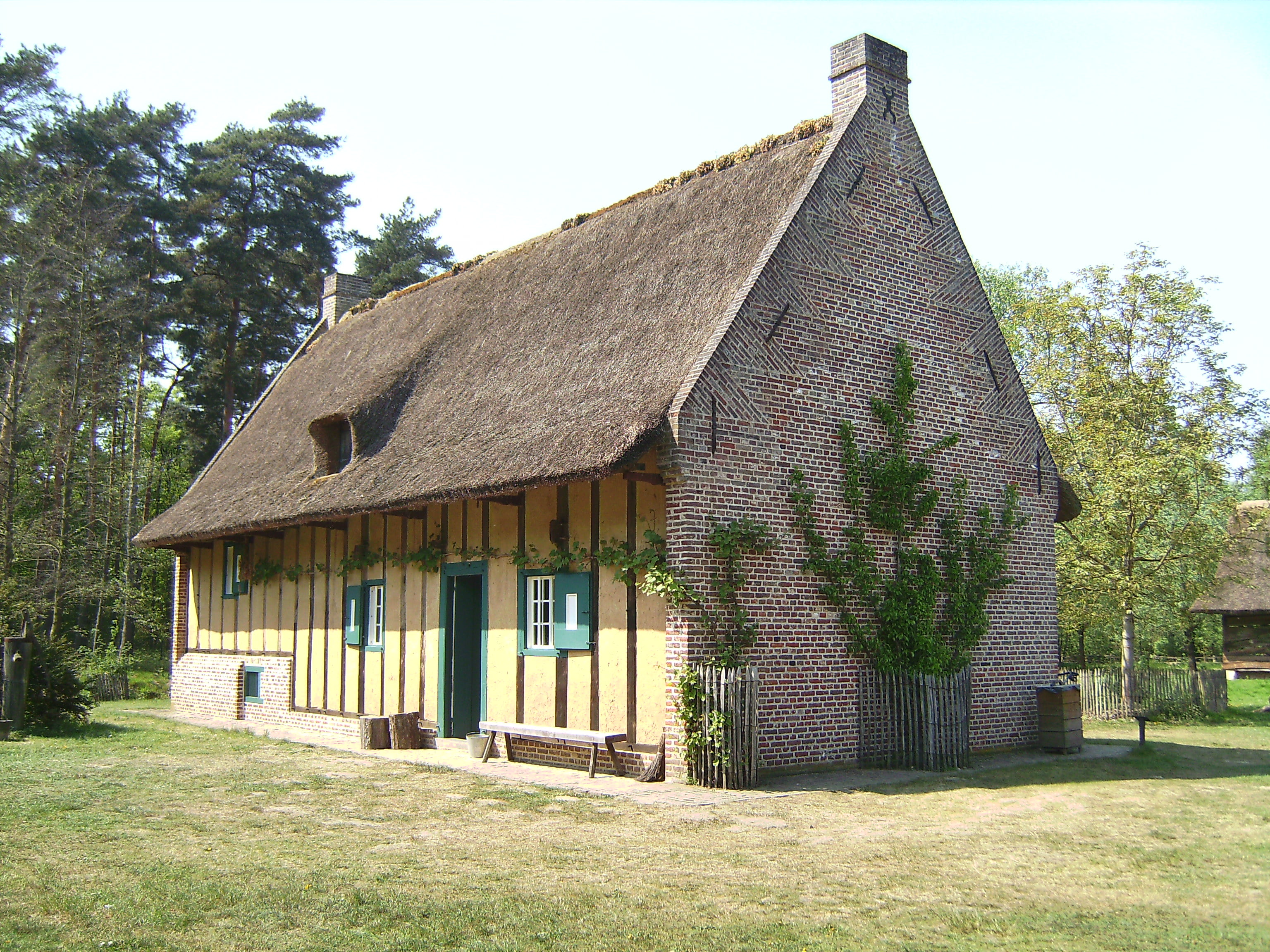 Bokrijk, the Open-Air Museum and the park