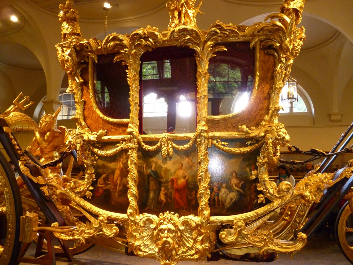 Buckingham Palace chariot