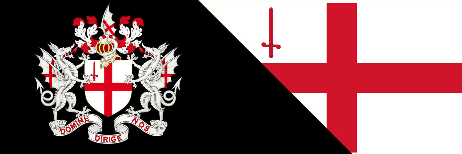 Coat of arms and flag of London